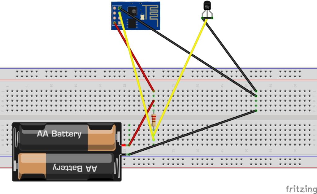 esp8266 termometr wifi